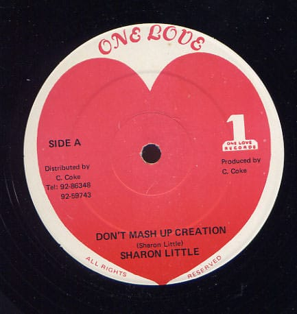 Sharon Little – Don't Mash Up Up Creation